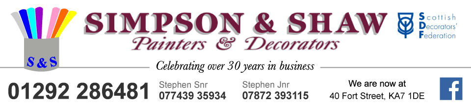 Simpson and Shaw LLP Decorators Ayr